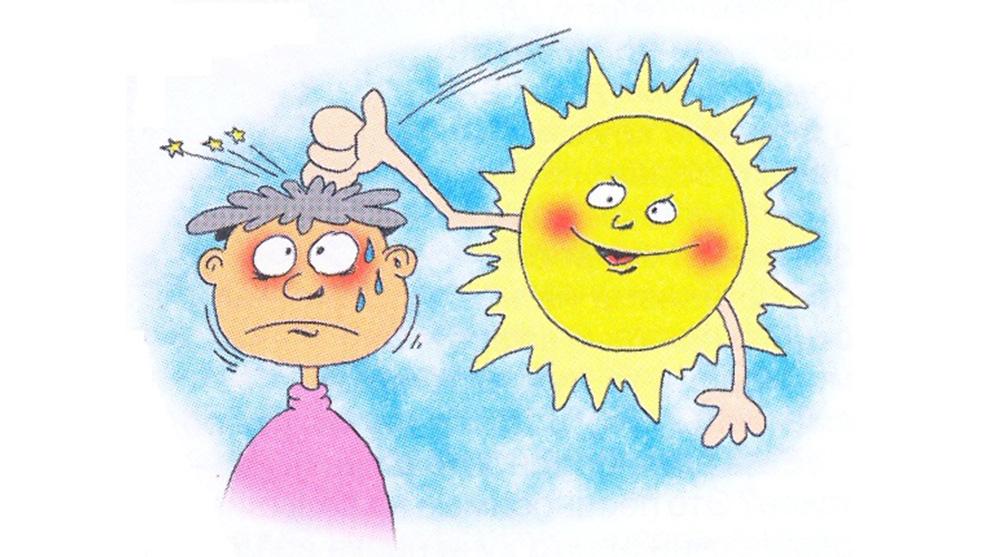 Правила оказания первой помощи при тепловом или солнечном ударе