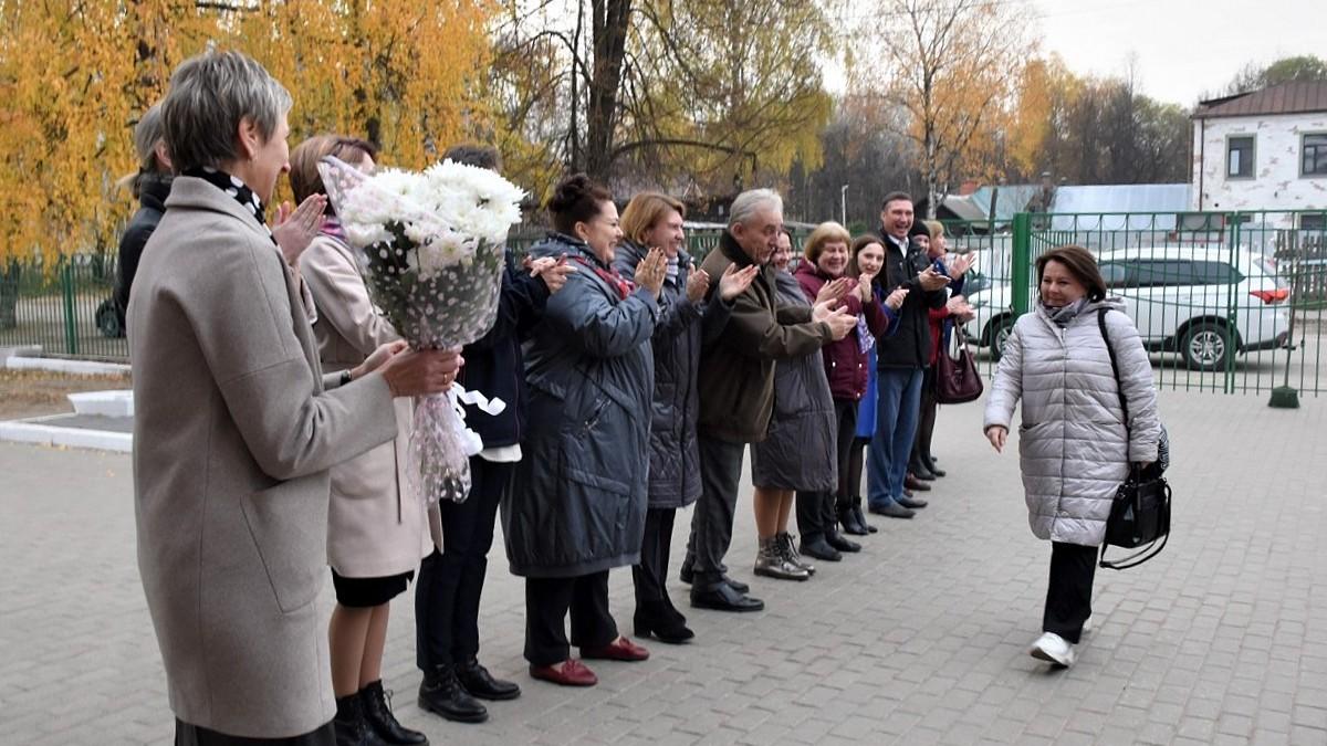 С всероссийского этапа конкурса «Учитель года России» вернулась Екатерина Кузнецова, учитель школы №15