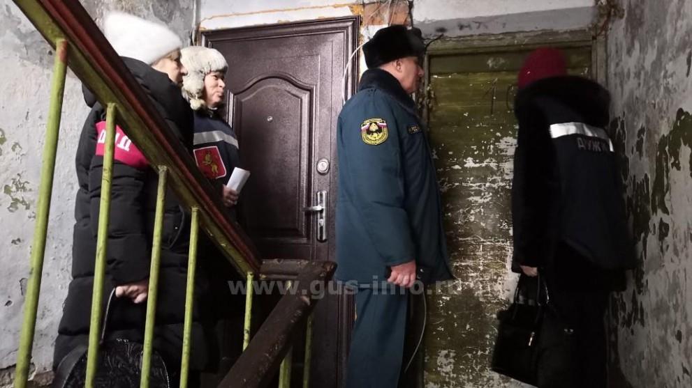 Профилактический рейд в городе Гусь-Хрустальном