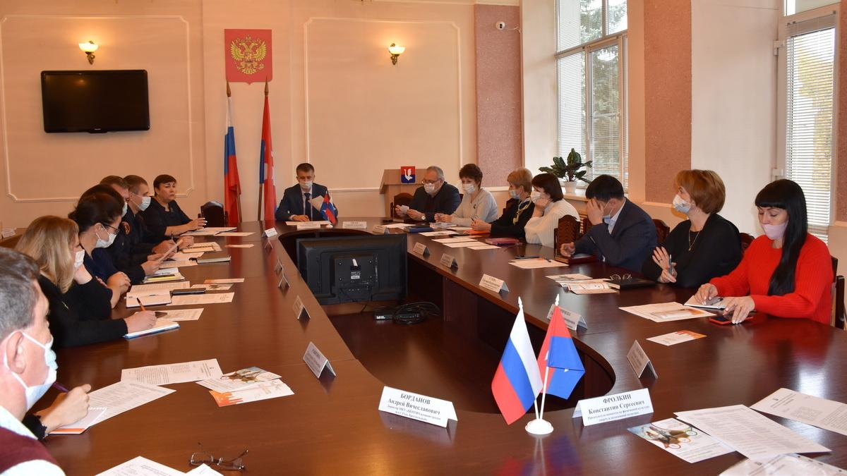 В Гусь-Хрустальном обсудили готовность к Всероссийской переписи населения