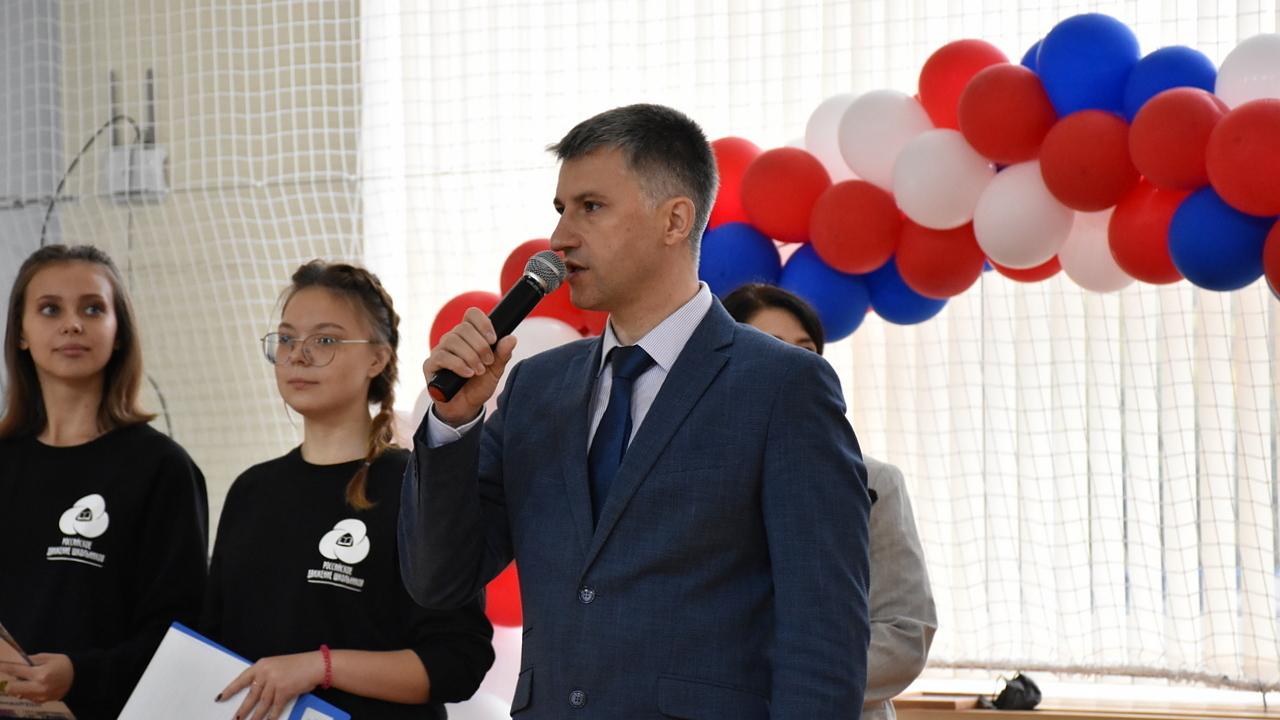 Глава города Алексей Соколов принял участие в открытии добровольческого форума «Шаг в будущее»