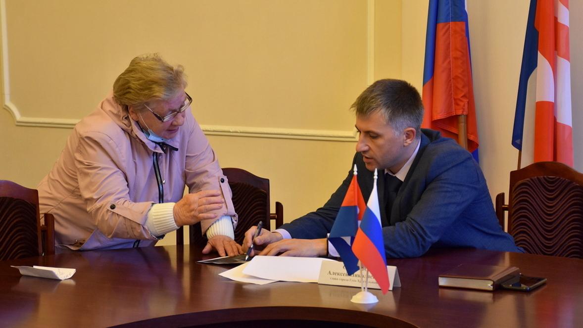 Глава города Алексей Соколов провел личный прием граждан